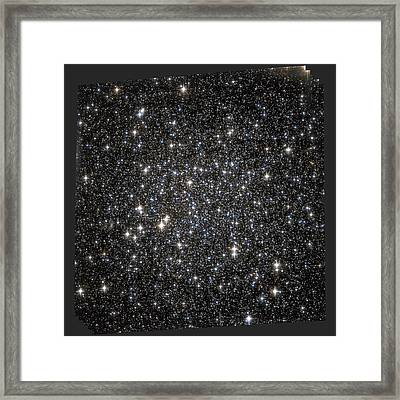 Globular Star Cluster Ngc 6101 Framed Print by Nasaesastsci