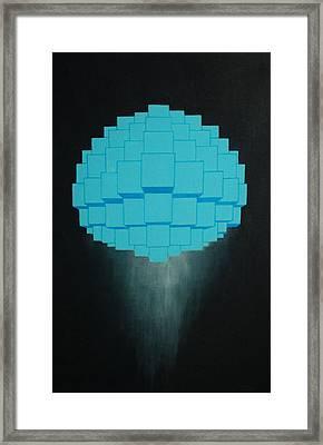 Globule Framed Print by Michael Mizenko
