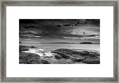 Gloom Over Congwong Framed Print by Mark Lucey