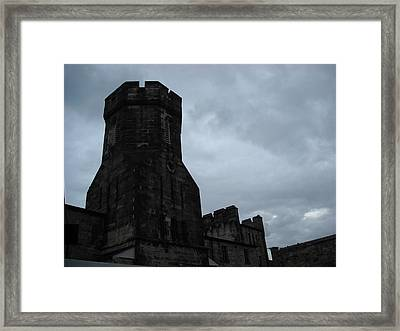 Gloom Turret Framed Print by Christophe Ennis