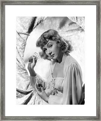 Gloria Grahame, 1944 Framed Print by Everett