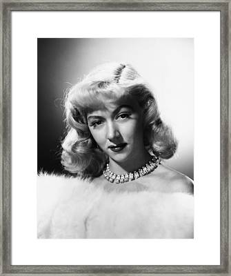 Gloria Grahame, 1953 Framed Print