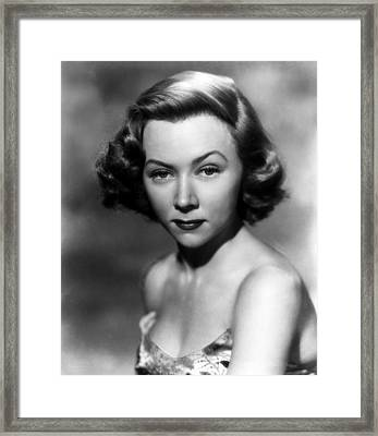 Gloria Grahame, Ca. 1950 Framed Print