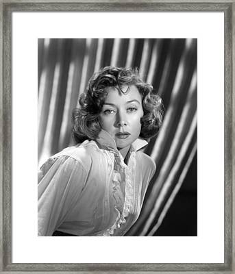 Gloria Grahame, Ca. Early 1950s Framed Print by Everett