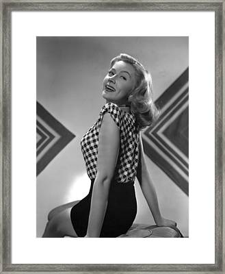 Gloria Grahame, Mgm Portrait, 1945 Framed Print by Everett