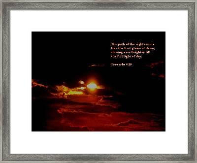 Glorious 2 Framed Print by Maria Urso