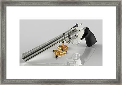 Glorious Colt Framed Print by Rimantas Vaiciulis