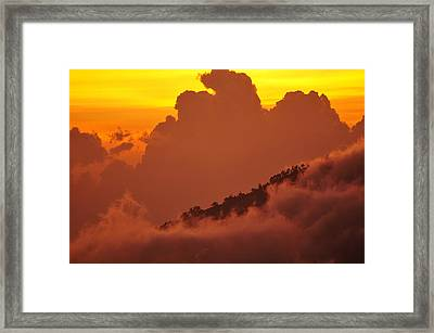 Glorious Sunrise Framed Print