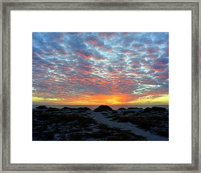 Glorious Sunset Framed Print