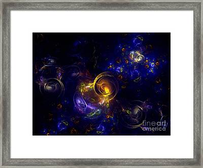 Glorious Univers Framed Print