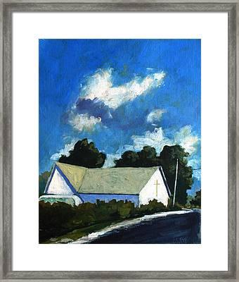 Glory Barn Framed Print by Charlie Spear