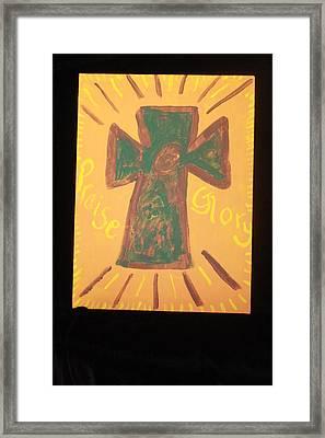Glory Framed Print by Deborah Minch