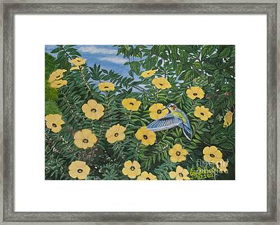 Glory In The Morning Framed Print