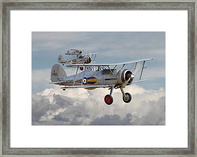 Gloster Gladiator Framed Print by Pat Speirs