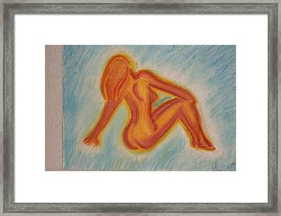 Glow Framed Print by Genoa Chanel