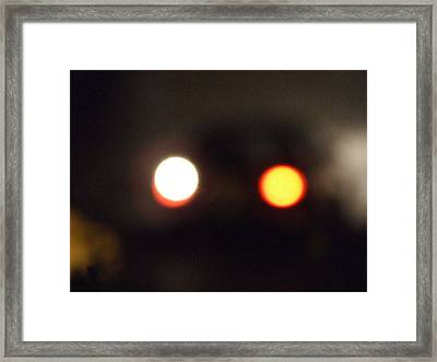 Glow In The Dark Framed Print by Dana Laor kogan