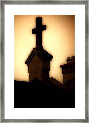 Glowing Resurrection Framed Print