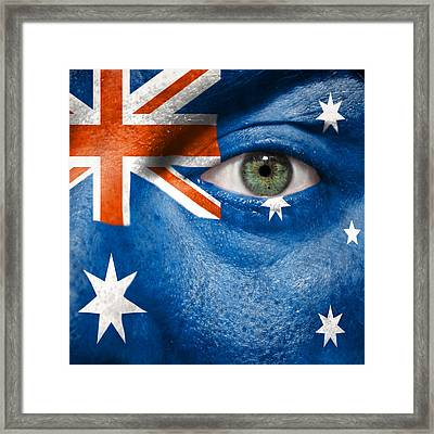 Go Australia Framed Print by Semmick Photo