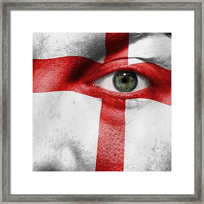 Go England Framed Print by Semmick Photo