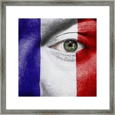 Go France Framed Print by Semmick Photo
