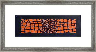Go Gators Framed Print by Holly Donohoe