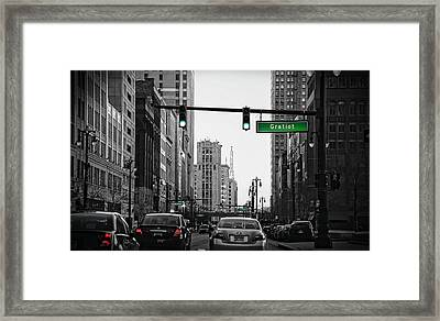 Go Go Gratiot Framed Print by Gordon Dean II