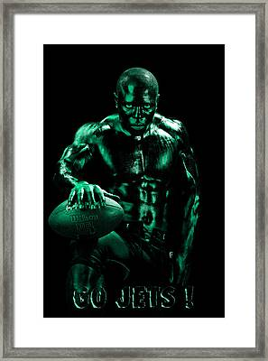 Go Jets Framed Print by Val Black Russian Tourchin