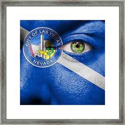 Go Las Vegas Framed Print by Semmick Photo