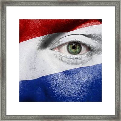 Go Netherlands Framed Print by Semmick Photo