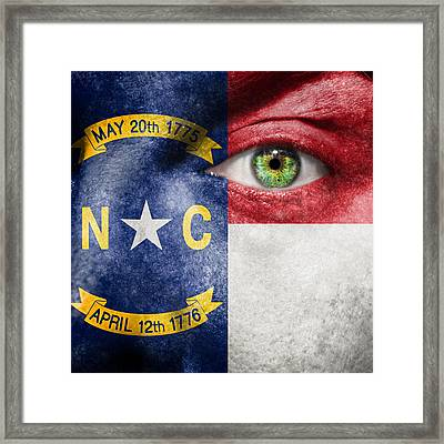 Go North Carolina Framed Print by Semmick Photo