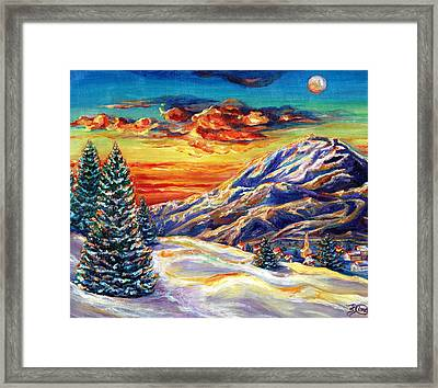 Go Tell It On The Mountain Framed Print by Suzanne King
