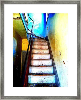 Framed Print featuring the photograph Go Up by Christine Ricker Brandt