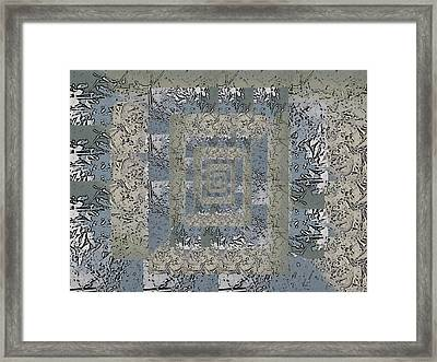Go With The Floe 6 Framed Print by Tim Allen