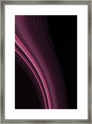 Go With The Flow Framed Print by Bonnie Bruno