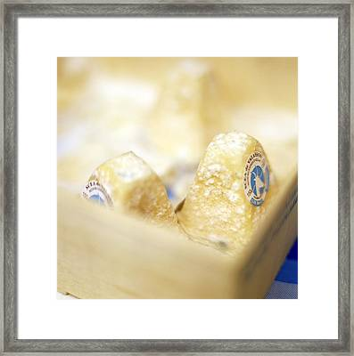 Goat's Cheese Framed Print by David Munns