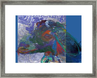 Goats Without Rx Framed Print by James Thomas