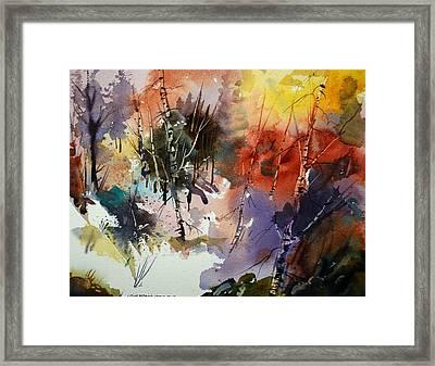 Goblin Forest Framed Print