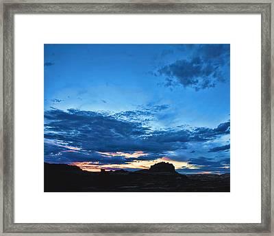 Goblin Valley Sunset Framed Print by Gregory Scott
