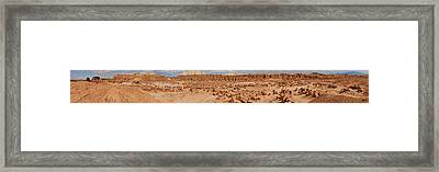 Goblin Valley With Potential Victims Framed Print by Gregory Scott