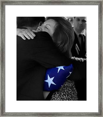 God - Family - Country - Honor Framed Print by Steven Milner