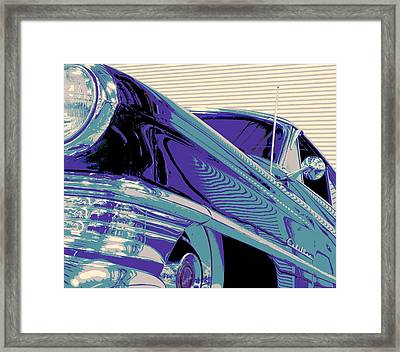 God Father Framed Print by Chuck Re