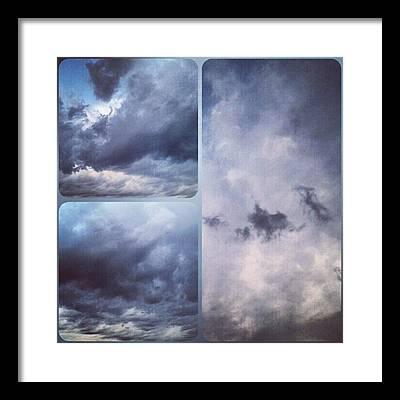 Cloud Framed Prints