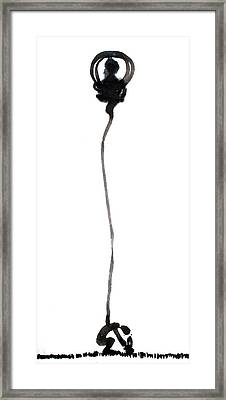 God Framed Print by Jinhyeok Lee