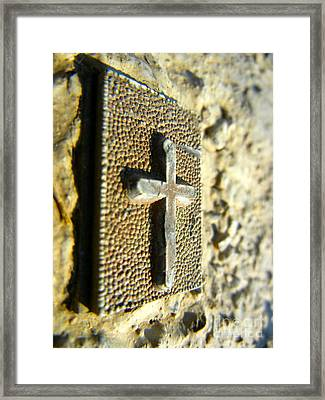 God So Loved The World Framed Print by KD Johnson