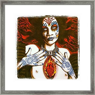 Goddess Of Desire Framed Print