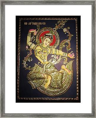 Goddess Tara Framed Print by Asha Nayak
