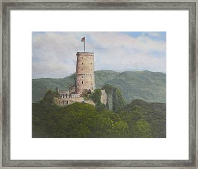 Godesburg Castle Framed Print by Heather Matthews