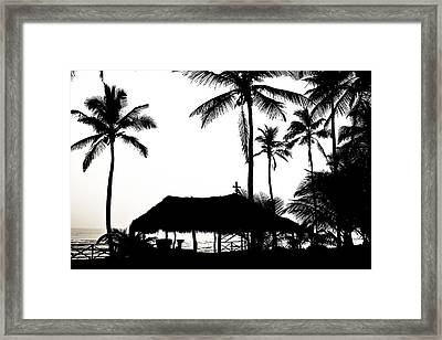 God's Beach Framed Print