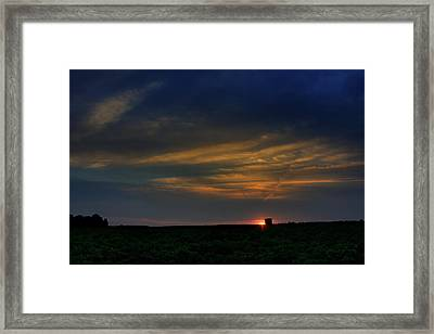 God's Colors Framed Print by Mike Whisante