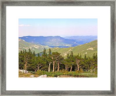 Framed Print featuring the photograph God's Country by Eve Spring